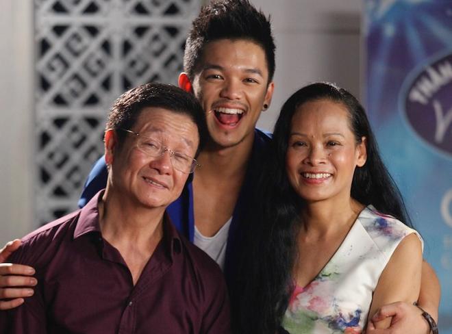 Top 6 Vietnam Idol chia se anh gia dinh hinh anh