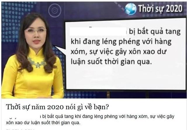 BTV Hoai Anh noi gi khi bi 'che' anh... Thoi su 2020? hinh anh