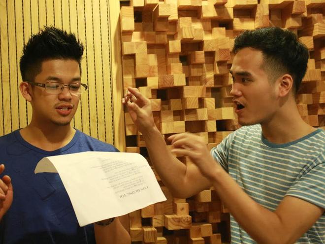 Top 3 Vietnam Idol hao huc ra mat san pham dau tay hinh anh