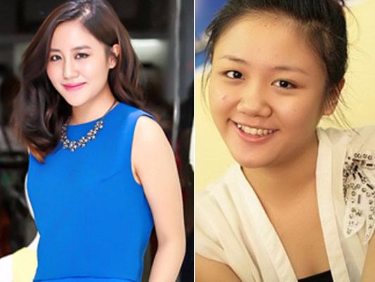 Ngoc Anh, Van Mai Huong thay doi 'chong mat' kho nhan ra hinh anh