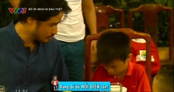 Doanh nhan Do Minh mang con tren truyen hinh hinh anh