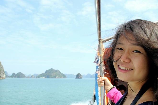 Huyen Chip dien thuyet tai TEDx Ha Noi 2012 ve du lich hinh anh