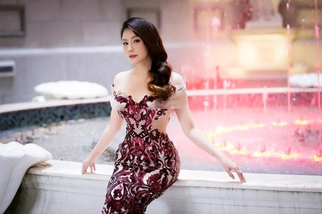 Ho Quynh Huong bi phat vi xay khu nghi duong anh 1