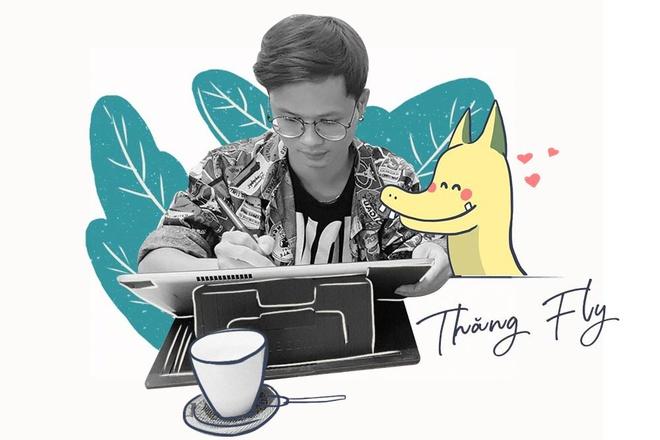 Hoa si Thang Fly: 'Nhieu nguoi noi Pikalong la an may, u thi dung ma!' hinh anh