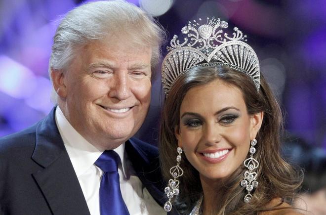 Donald Trump: Ong trum hoa hau hao nhoang nhat showbiz My hinh anh