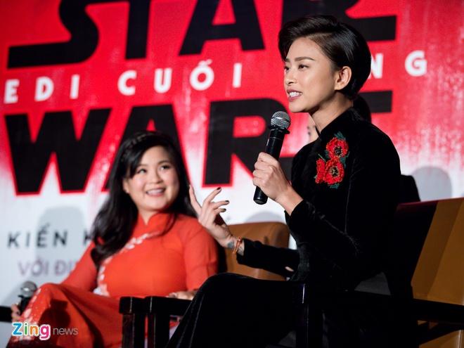 Ngo Thanh Van va Kelly Marie Tran noi ve 'Star Wars' hinh anh