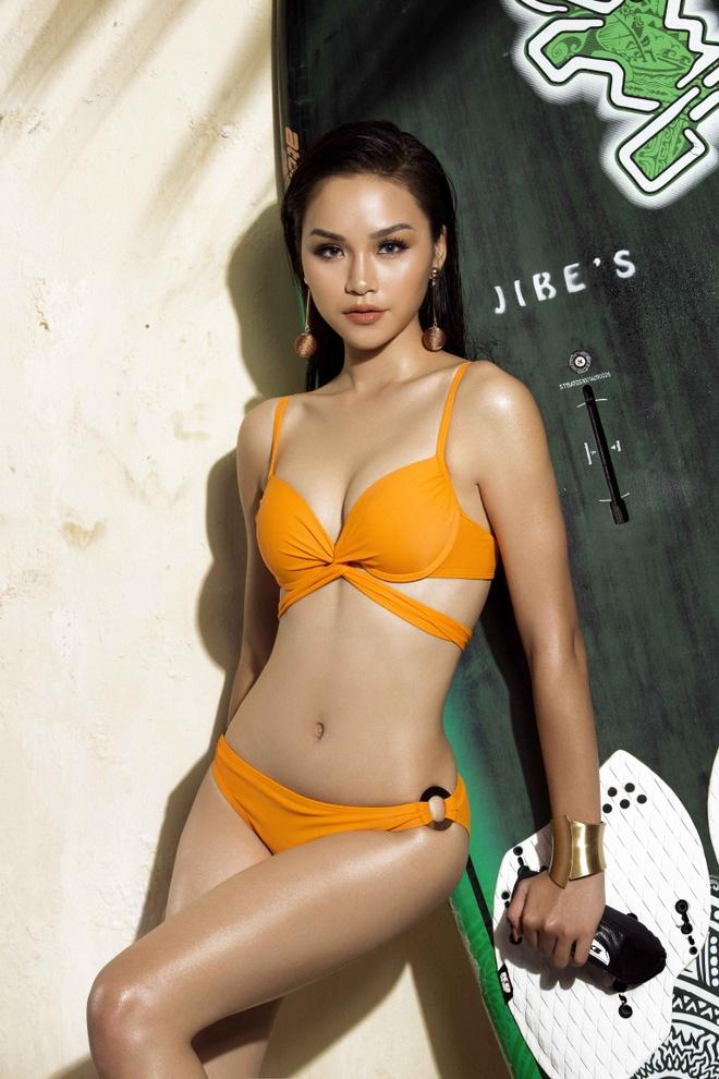 Top 45 Hoa hau Hoan vu Viet Nam rang ro voi bikini ben be boi hinh anh 7