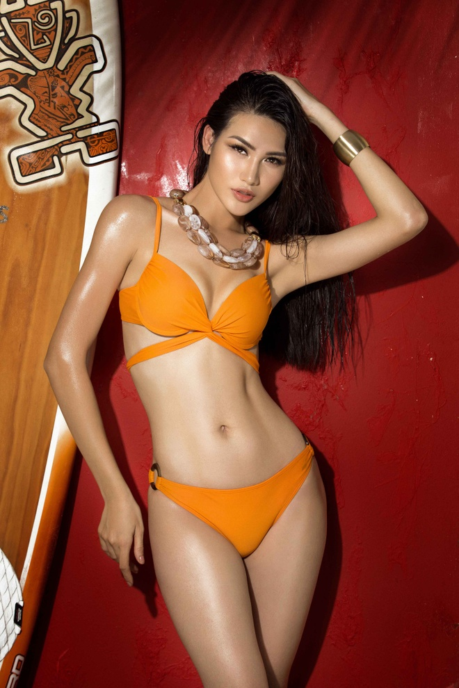 Top 45 Hoa hau Hoan vu Viet Nam rang ro voi bikini ben be boi hinh anh 10