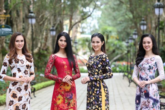 Top 45 Hoa hau Hoan vu Viet Nam dien ao dai giua doi thong Da Lat hinh anh 2