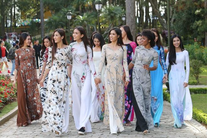 Top 45 Hoa hau Hoan vu Viet Nam dien ao dai giua doi thong Da Lat hinh anh 14