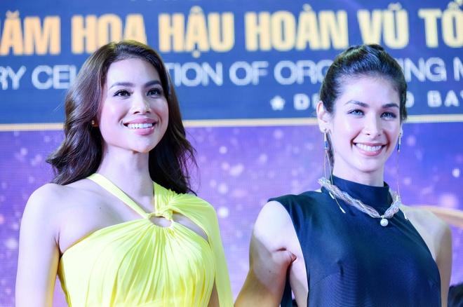 Hoa hau dep nhat the gioi 2008 ruc ro ben Pham Huong va thi sinh HHHV hinh anh