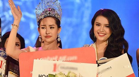 Hai thang doi vuong mien day song gio cua Hoa hau Dai duong Ngan Anh hinh anh