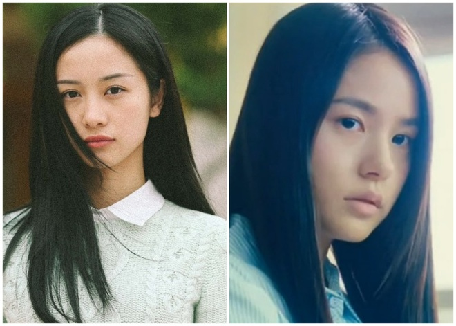 Jun Vu dep hon Min Hyo Rin khi dien lai vai trong 'Thang nam ruc ro'? hinh anh