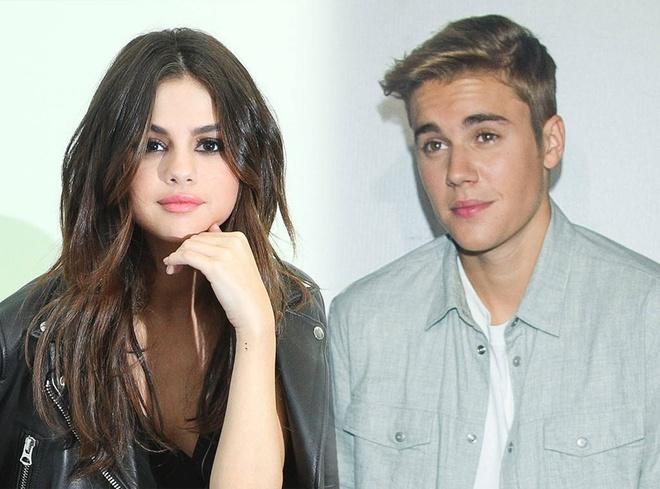 Justin Bieber va Selena Gomez tam xa nhau vi qua ap luc hinh anh