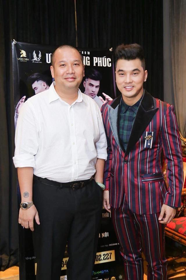 Quang Huy trai long truoc show Ung Hoang Phuc: Ca thoi trai tre ua ve hinh anh 1