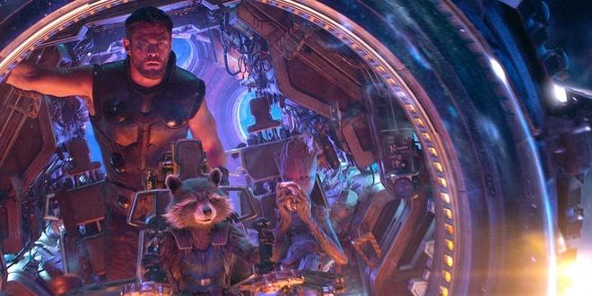 He lo clip Thor gap Ve binh dai Ngan ha trong 'Avengers: Infinity War' hinh anh 1