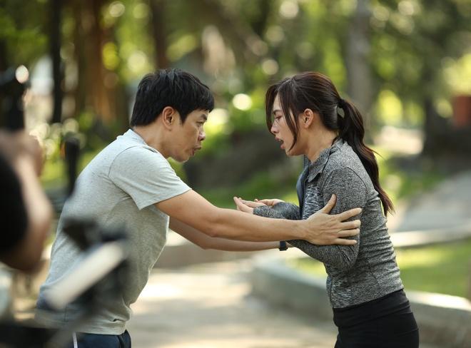 Thai Hoa loay hoay truoc me cung do phu nu trong 'Chang vo cua em' hinh anh 2