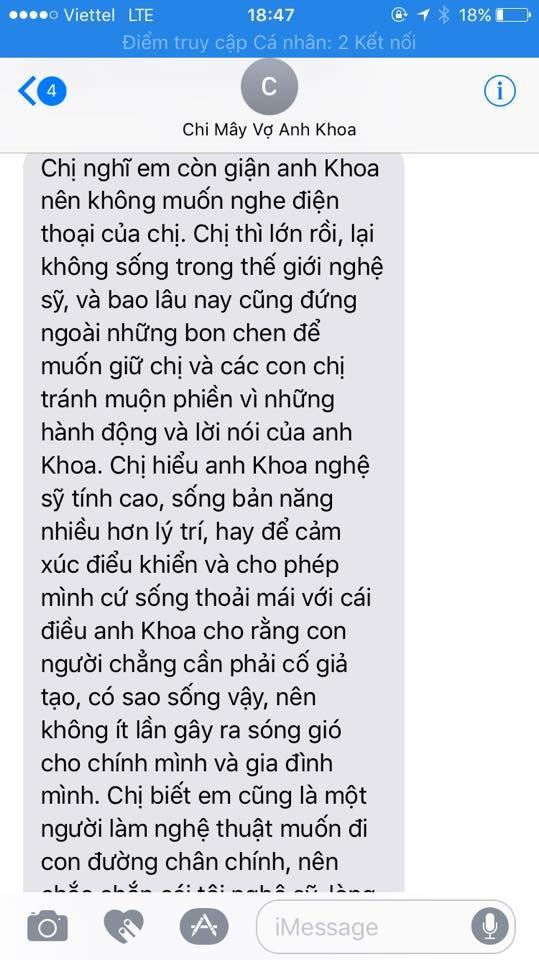 Pham Lich cong khai tin nhan cho vo Pham Anh Khoa truoc vu to ga tinh hinh anh 4
