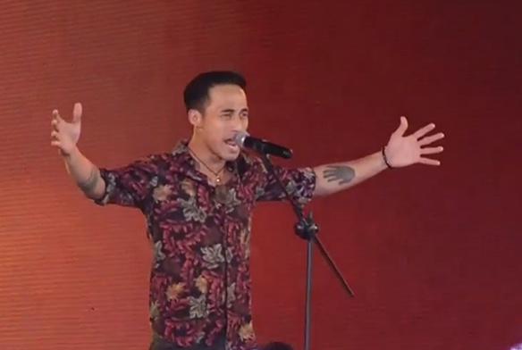 Pham Anh Khoa van len song truc tiep VTV sau khi xin loi vu ga tinh hinh anh