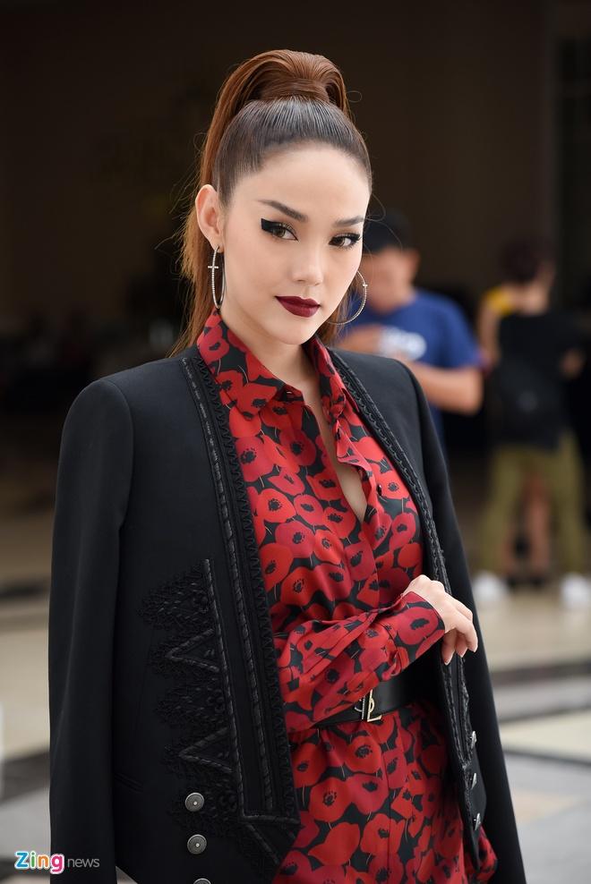 Thanh Hang, Minh Hang, Vo Hoang Yen xuat hien lanh lung o The Face hinh anh 6