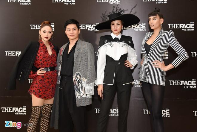 Thanh Hang, Minh Hang, Vo Hoang Yen xuat hien lanh lung o The Face hinh anh 11