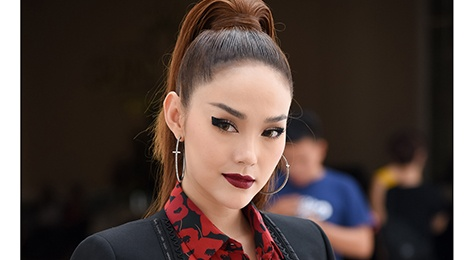 Thanh Hang, Minh Hang, Vo Hoang Yen xuat hien lanh lung o The Face hinh anh