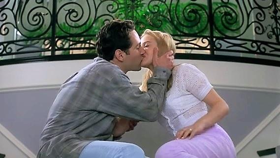 Paul Rudd hon Alicia Silverstone trong phim hoc duong Clueless (1995) hinh anh