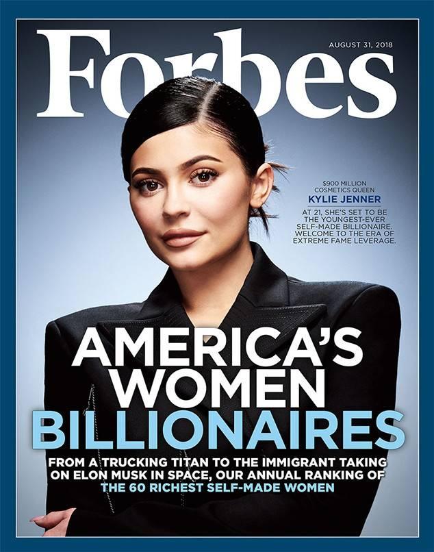 Tap chi Forbes bi che nhao vi goi Kylie Jenner la 'ty phu tu than' hinh anh 1