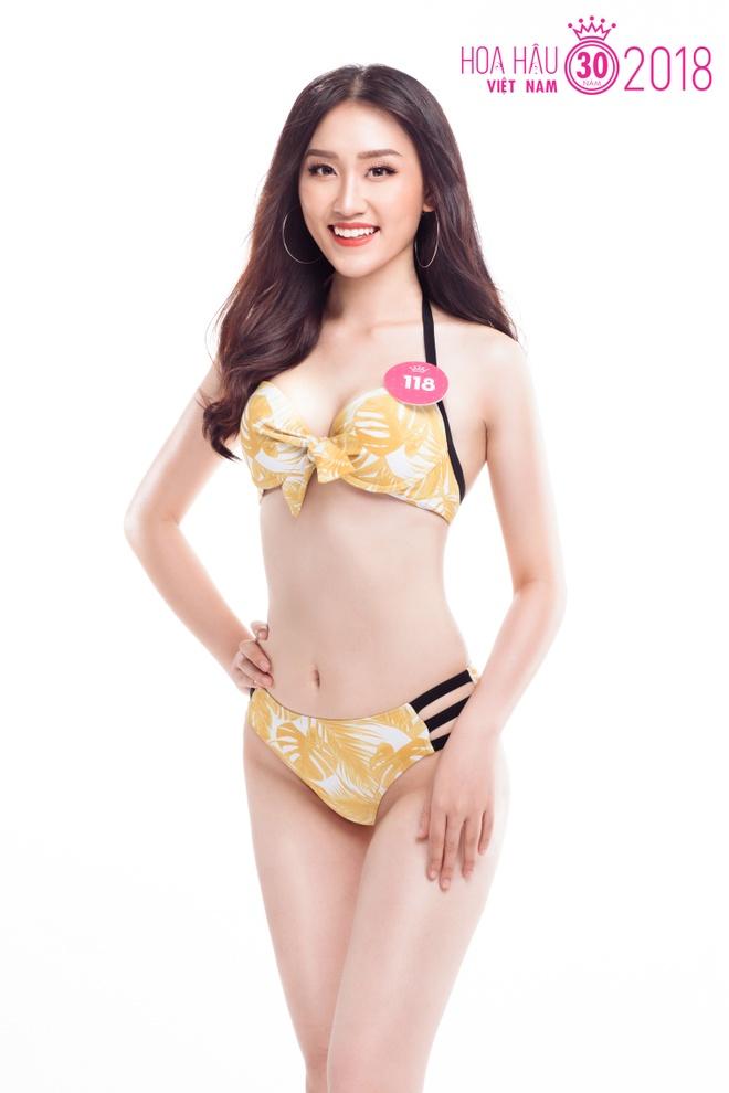 Anh bikini va chi so hinh the cua nguoi dep Hoa hau Viet Nam phia Bac hinh anh 9