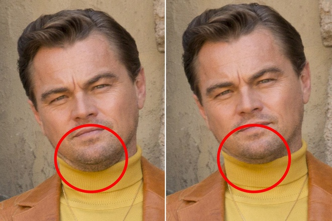Anh photoshop cua Leonardo DiCaprio: Hollywood khong cho phep lao hoa? hinh anh 1