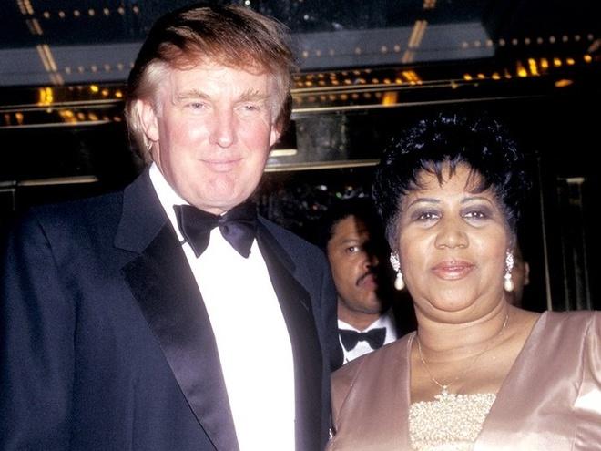Trump bi phan doi voi cau noi ve Nu hoang nhac Soul vua qua doi hinh anh
