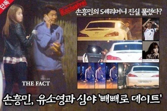Loat ban gai cu cua Son Heung Min: Bi nem da, che ham danh tieng hinh anh 1