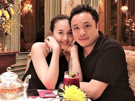 Dinh Ngoc Diep: 'Toi tin tuong 200% khi chong lam viec voi my nhan' hinh anh