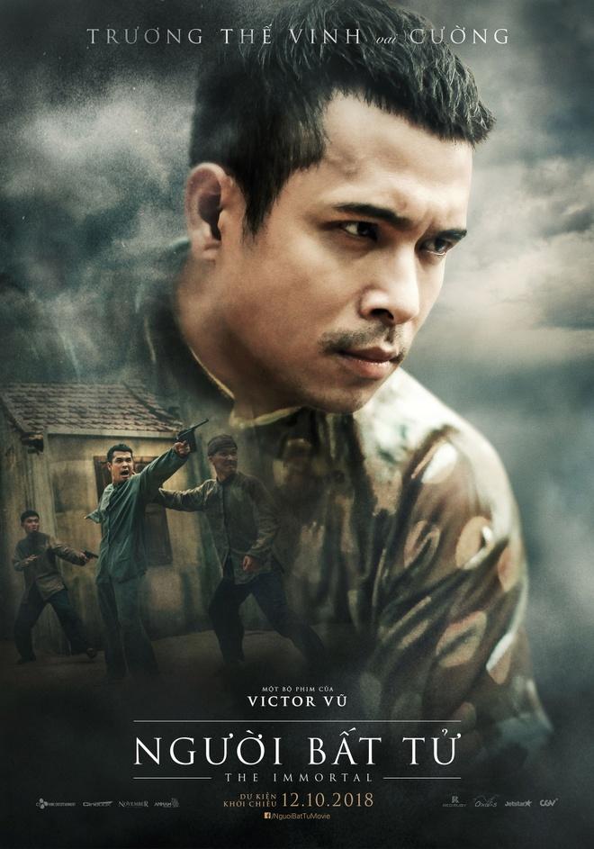 Jun Vu, Dinh Ngoc Diep khoe ve dep ngoc nu tren poster 'Nguoi bat tu' hinh anh 8