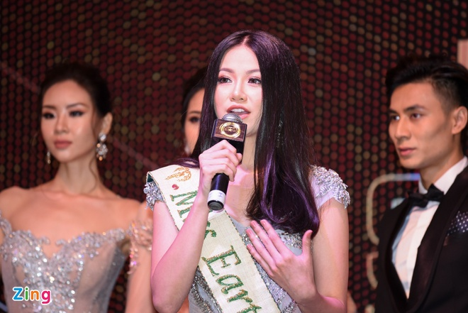 Hoa hau Phuong Khanh khoe nhan sac, khong phu nhan tin don dao keo hinh anh 9