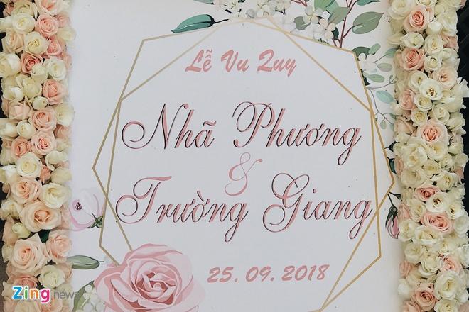 Le ruoc dau cua Truong Giang va Nha Phuong anh 2