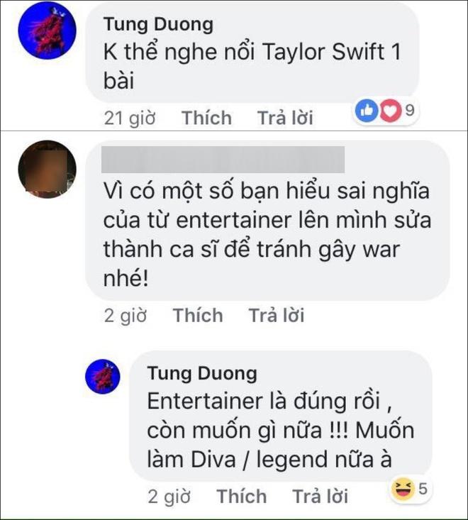 Che nhac Taylor Swift, Tung Duong gay tranh cai hinh anh 1
