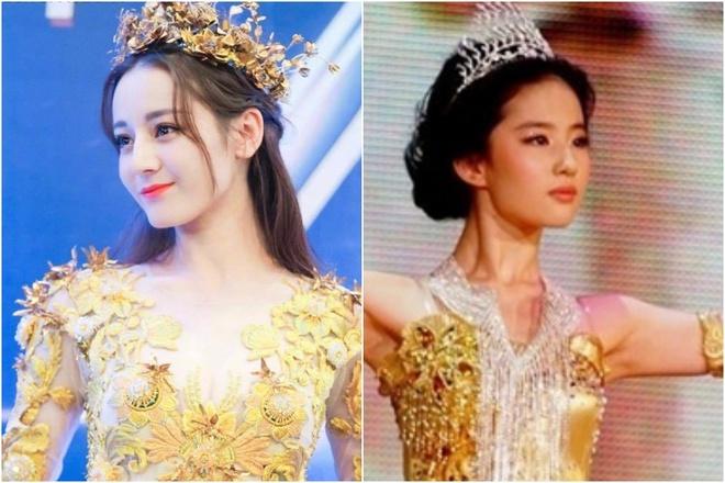 Dich Le Nhiet Ba co xinh dep hon Luu Diec Phi khi lam Nu than Kim Ung? hinh anh