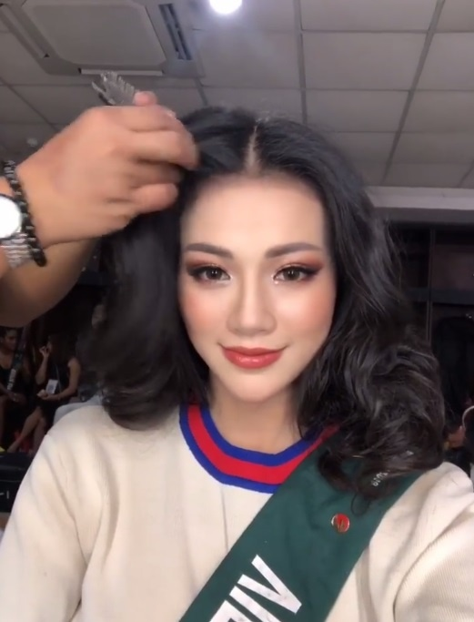 Nhan sac doi thuong nong bong cua tan Hoa hau Trai dat Phuong Khanh hinh anh 11