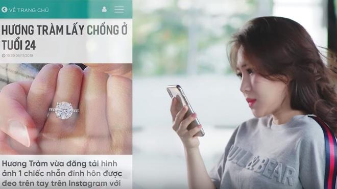 Sau vu boc da tay ri mau, Huong Tram ra MV ve mat trai cua danh tieng hinh anh 1