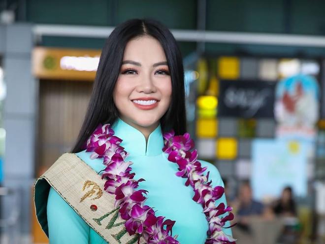 Hoa hau Trai dat 2018 Phuong Khanh khong doi vuong mien ngay tro ve hinh anh
