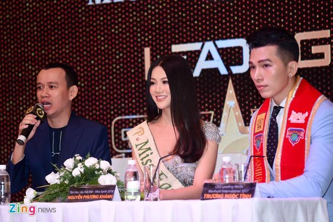Hoa hau Phuong Khanh khoe nhan sac, khong phu nhan tin don dao keo hinh anh 6