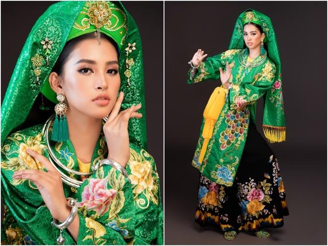 Hoa hau Tieu Vy mua chau van 'Co doi thuong ngan' tai Miss World hinh anh