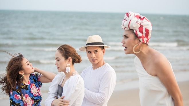 Clip Vo Hoang Yen mang, doa phat thi sinh Quynh Anh tai The Face hinh anh