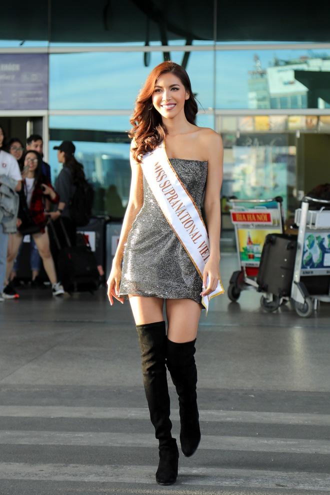 Minh Tú tự tin thi Hoa hậu Siêu quốc gia sau lùm xùm ảnh khỏa thân