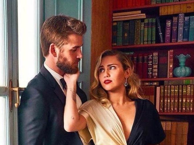 Miley Cyrus, Liam Hemsworth: Ben lau 10 nam, khong 'yeu gap, cuoi voi' hinh anh
