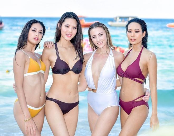 H'Hen Nie dien bikini boc lua, my nhan Philippines lo eo banh mi hinh anh 12