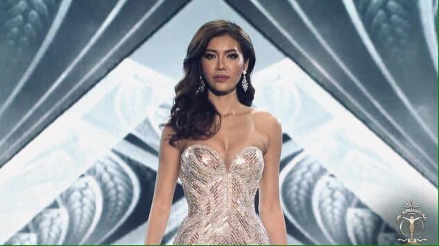 Minh Tu khoc, nhan gui antifan khi dung chan Top 10 Miss Supranational hinh anh 2