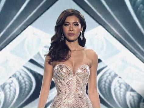 Minh Tu khoc, nhan gui antifan khi dung chan Top 10 Miss Supranational hinh anh