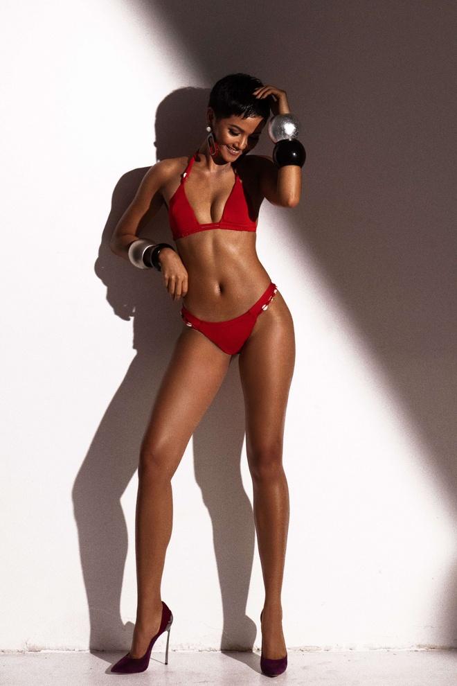 H'Hen Nie khoe vong ba 97 cm trong bo anh bikini truoc ban ket HHHV hinh anh 2